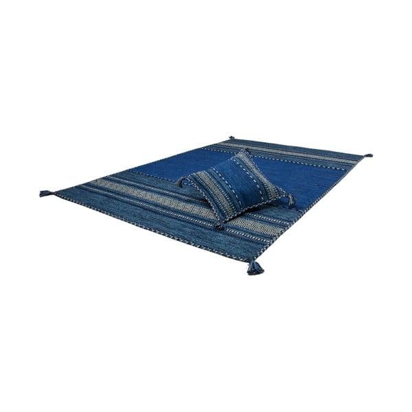 Vankúš Native Blue, 45x45 cm