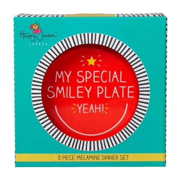 Jedálenská sada Happy Jackson Smiley