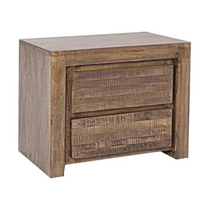Nočný stolík z mangového dreva Bizzotto Jamila