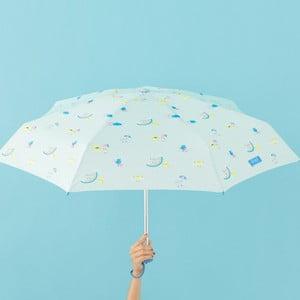 Mätovozelený dáždnik Mr. Wonderful Cloud, šírka 108 cm