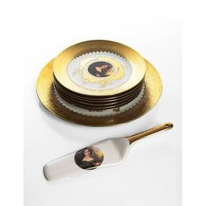 Porcelánový tortový set Cihan Bilisim Tekstil