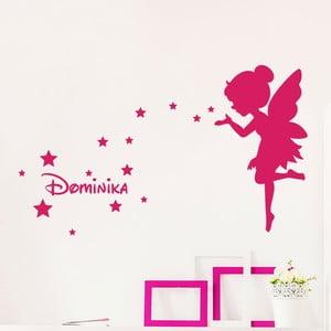 Nástenná samolepka s menom Ambiance Fairy And The Stars