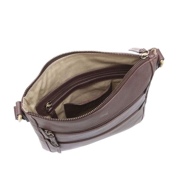 Dámska kožená taška Paloma Cocoa