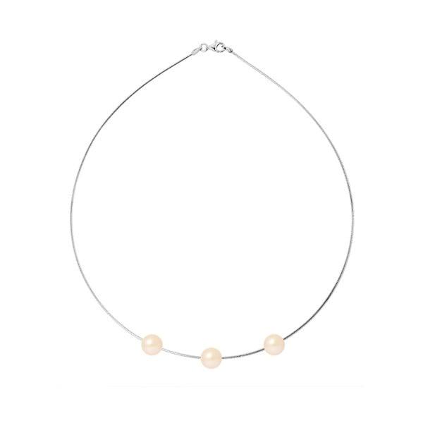 Náhrdelník s riečnymi perlami Agatha