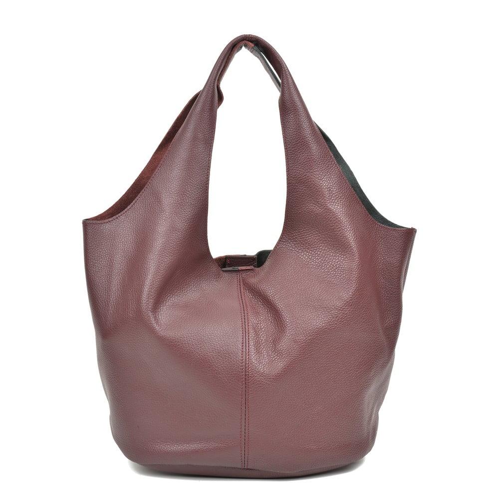 Dámska kožená kabelka Carla Ferreri Paula