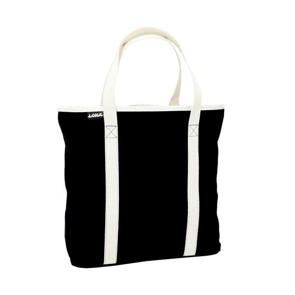 Plátená taška Patt Bag, černá