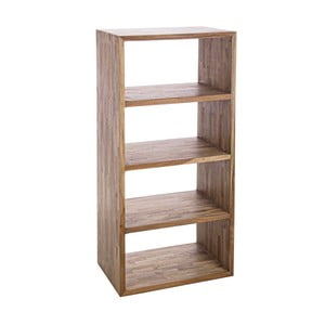 Knižnica z recyklovaného dreva Bizzotto Alvin