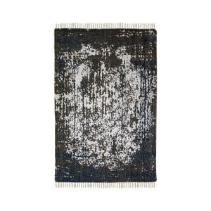 Modro-béžový bavlnený koberec HSM collection Colorful Living Crisso, 160×230 cm