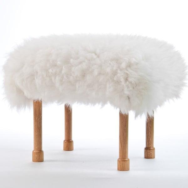 Stolička z ovčej kože Megan Ivory