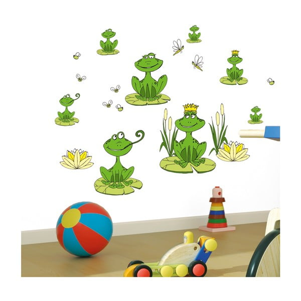 Samolepka Frogs