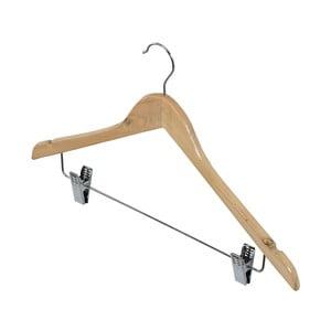 Univerzálny drevený vešiak na odevy a nohavice Domopak