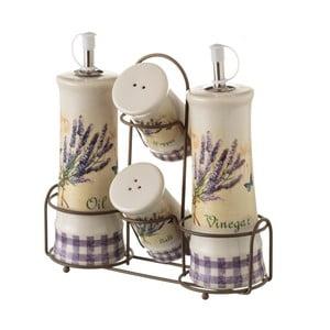 Kameninový dochucovací set Unimasa Lavender
