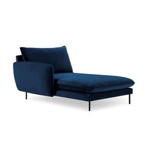 Modrá leňoška s podrúčkou na pravé straně Cosmopolitan Design Vienna