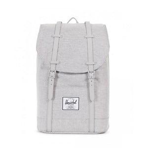 Svetlosivý batoh so sivými popruhmi Herschel Retreat