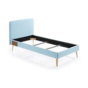 Svetlomodrá jednolôžková posteľ La Forma Lydia, 190×90cm