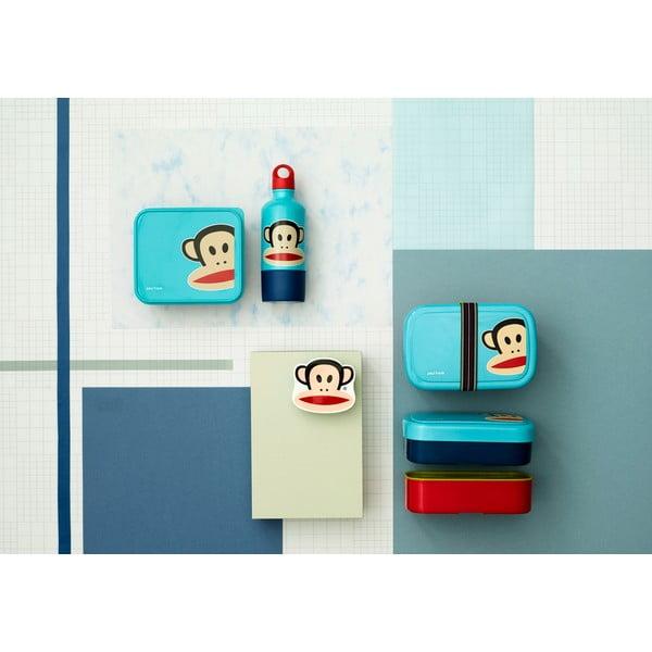 Modrý dvojposchodový desiatový box LEGO® Paul Frank