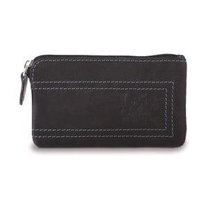 Kožená peňaženka Lois Black, 11x7 cm