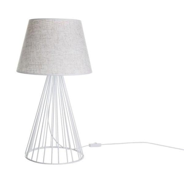 Biela stolová lampa Wiry