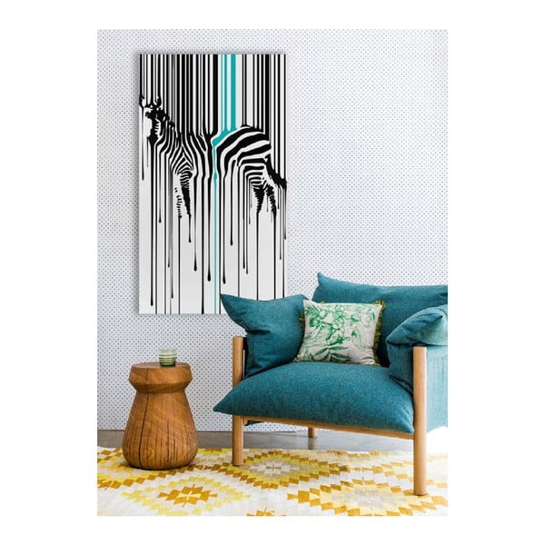 Obraz na plátne Zebra, 70 x 100 cm