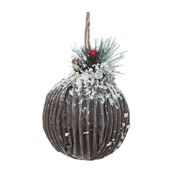 Závesná dekorácia Brown Ball