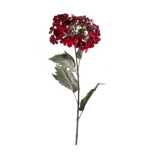 Umelý kvet Hortenzia, tmavočervená