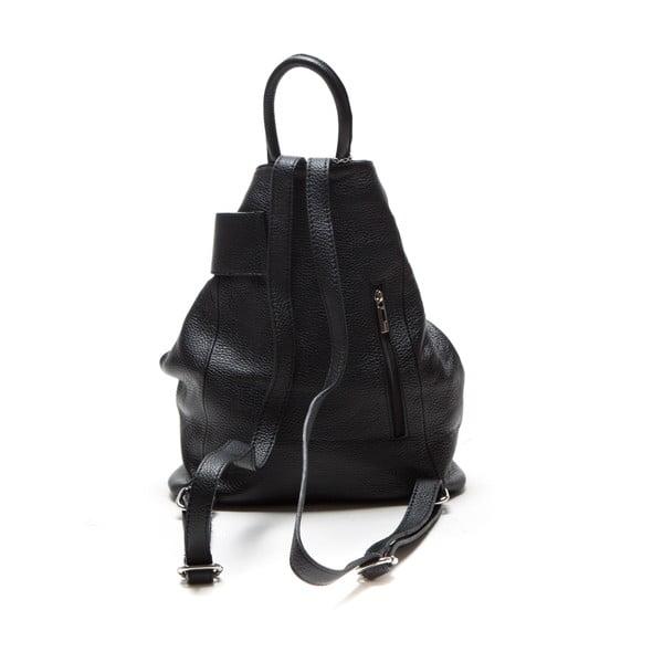Kožený batoh Sonia, čierny