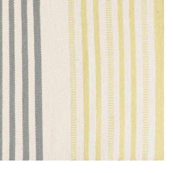 Ručne tkaný vlnený koberec Story Lime, 170x240cm