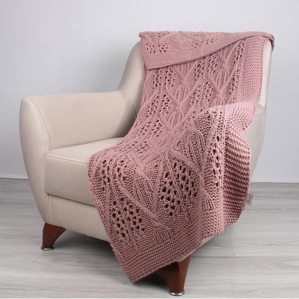 Ružová deka Tete