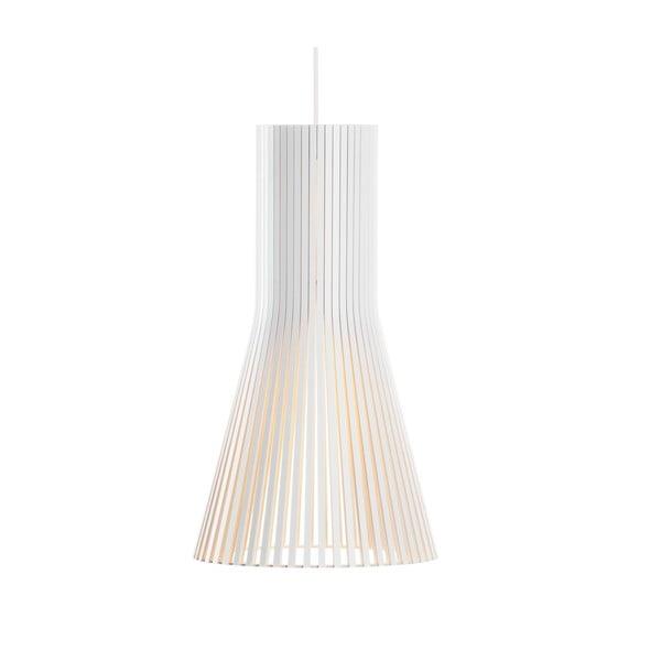 Závesné svietidlo Secto 4201 White, 45 cm