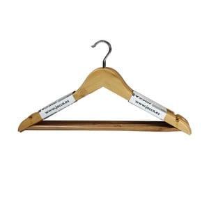 Sada 6 vešiakov Wooden Hangers