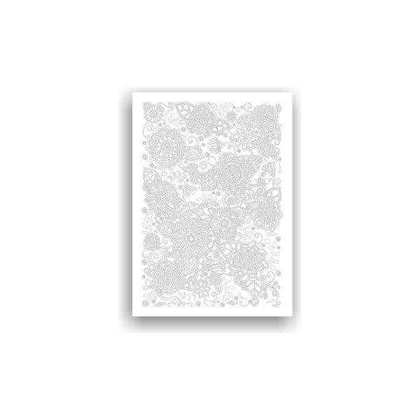 Obraz na vymaľovanie Color It no. 80, 70x50 cm