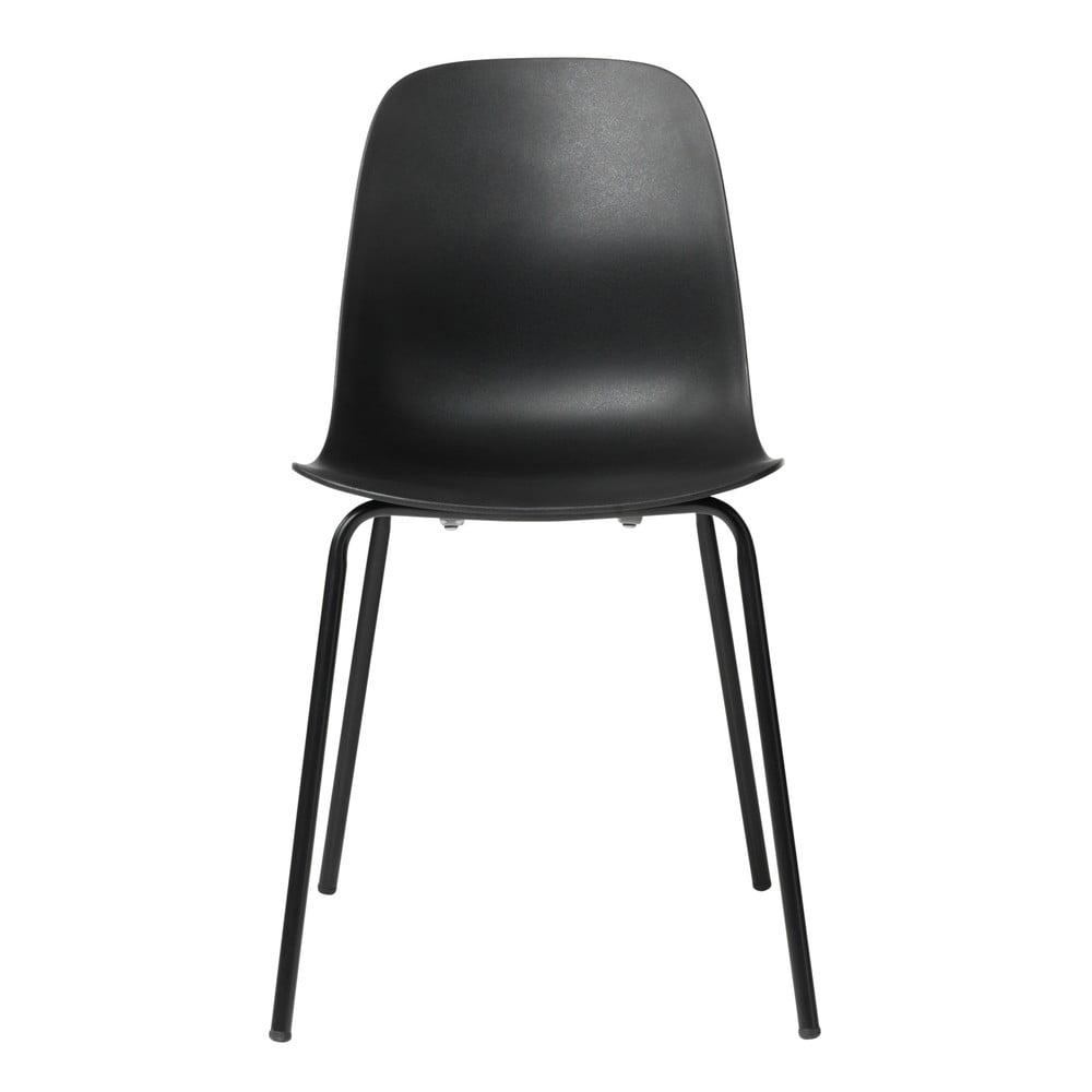 Čierna jedálenská stolička Unique Furniture Whitby