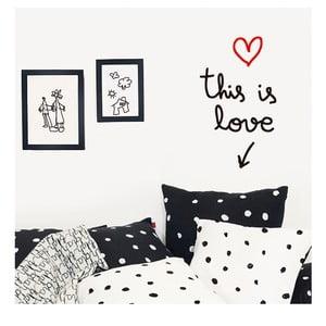 Dekoratívna samolepka na stenu This Is Love