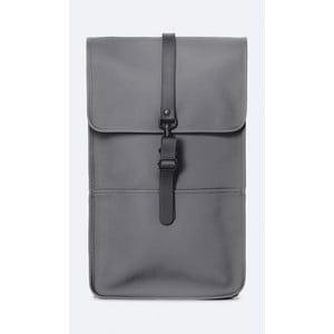 Tmavosivý batoh s vysokou vodoodolnosťou Rains Backpack