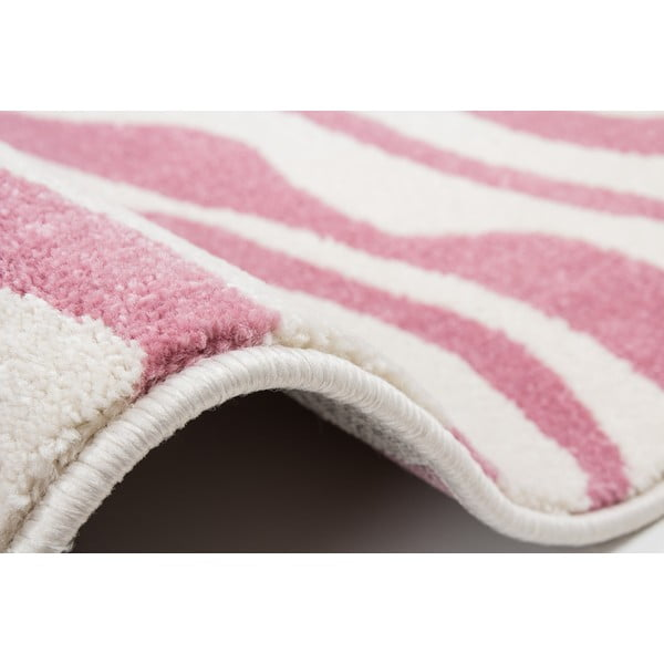 Ružový koberec Kayoom Fusion, 160 x 230 cm