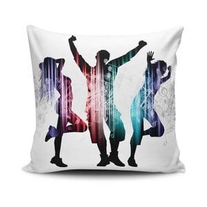 Obliečka na vankúš s prímesou bavlny Cushion Love Trio, 45 × 45 cm
