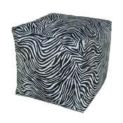 Čierno-biely puf 13Casa Zebra