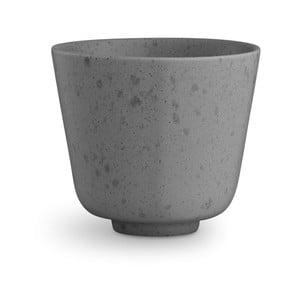 Sivý kameninový hrnček Kähler Design Ombria, 300 ml