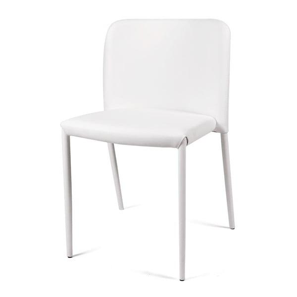 Jedálenská stolička Lilia, biela
