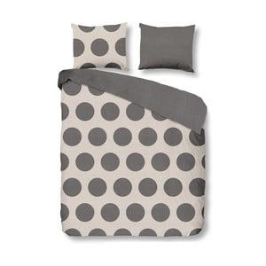 Obliečky Dots Grey, 140x200 cm