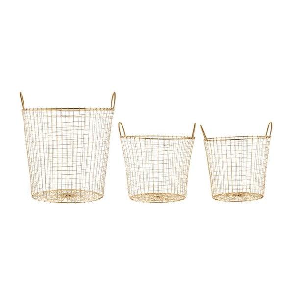 Sada 3 košíkov Goldie Trio