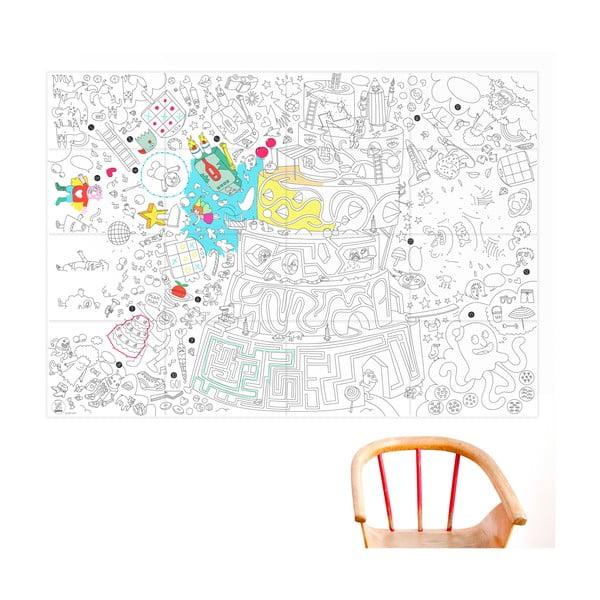 Maľovanka OMY Play (70 x 100 cm)