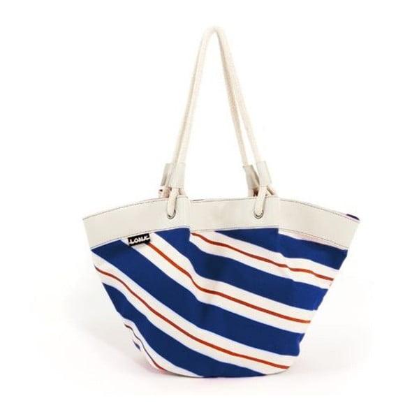 Plážová taška Gina Bag, červená/modrá