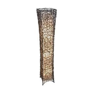 Hnedá voľne stojacia lampa Naeve Korbstehleuchte
