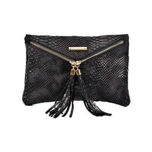Čierna kožená kabelka Roberta M Sarah