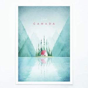Plagát Travelposter Canada, A3