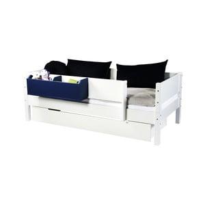 Biela zásuvka určená pod posteľ Manis-h, 90 x 200 cm