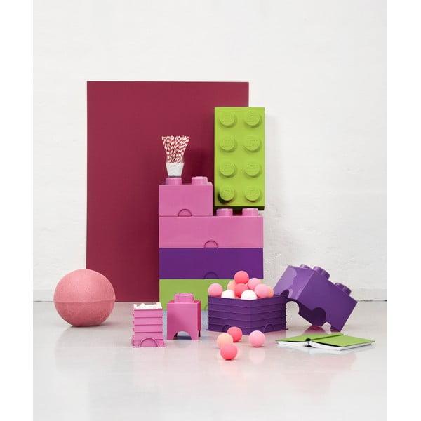 Svetlozelený úložný box LEGO®