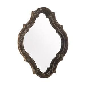 Hnedé zrkadlo Geese Antique