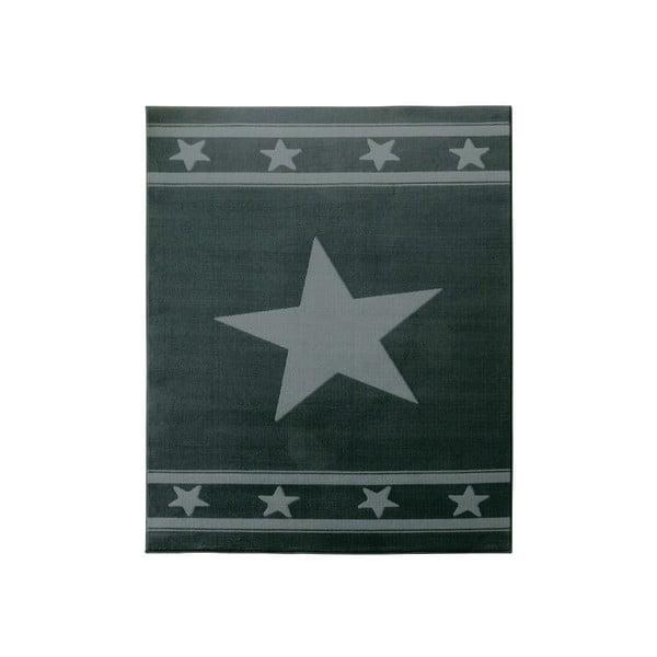 Detský sivý koberec Hanse Home Hviezda, 140×200cm